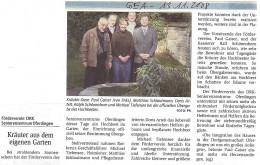 GEA - Reutlinger Generalanzeiger: Hochbeet-Übergabe