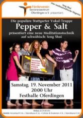Pepper & Salt in Oferdingen am 19.11.2011