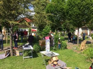 Kunst im Grünen 2015 - eine Veranstaltung des Förderverein Seniorenzentrum Oferdingen e.V.