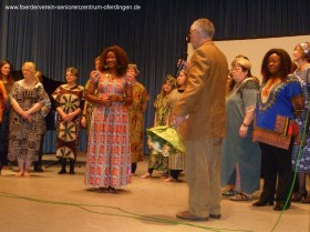 Kumbaya Gospel Chor in der Oferdinger Festhalle